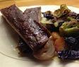 Revben med stekta grönsaker