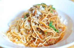 Spaghetti med köttfärssås PS