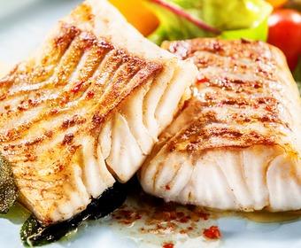 Stekt fisk PS