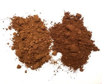 Två sorters kakao PS