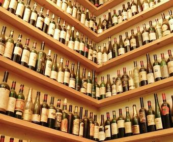 vin i vinkällare