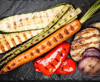 Grillade grönsaker PS