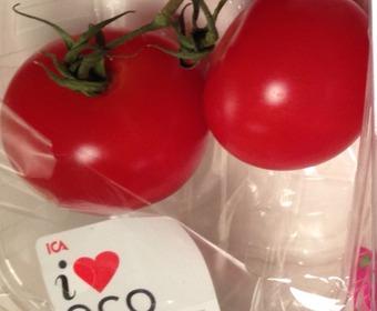tomater i förpackning
