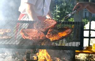 Grillat kött. Maillard