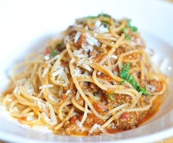 PS klassiker spagetti och köttfärssås