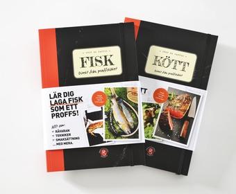 PS kunskapsböcker Kött och Fisk