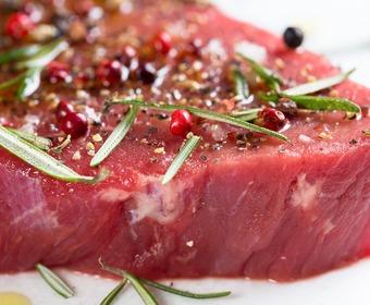 Torr marinad kött