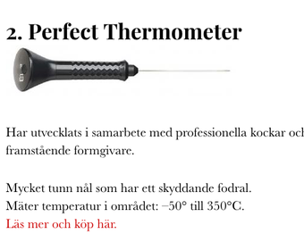 Perfect thermometer PS
