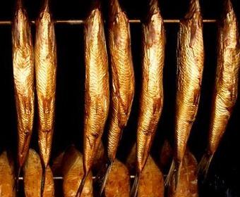 rökt fisk Hjerta