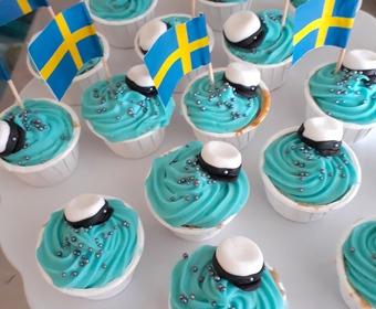 Cupcakes till studenten PS