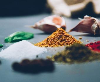 kryddor, Lilla smakskolan